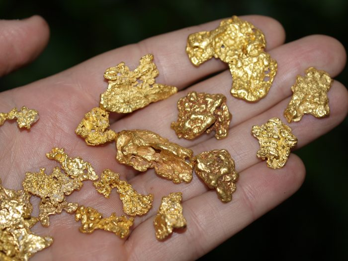 Cleaning Gold Nuggets