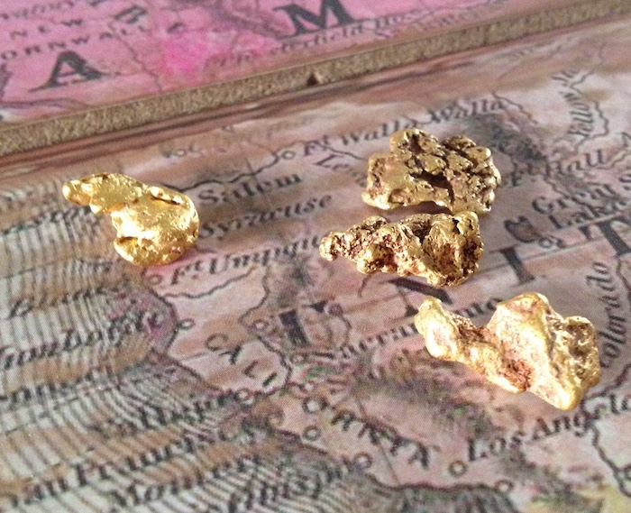 Gold Nuggets from Montana