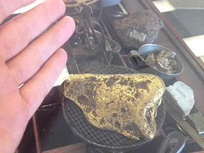 Huge Oregon Gold Nugget