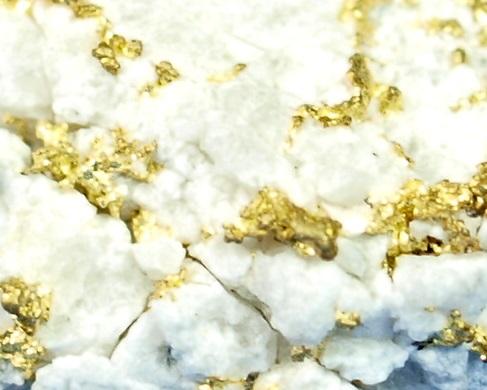 Gold Veins in Hard Rock
