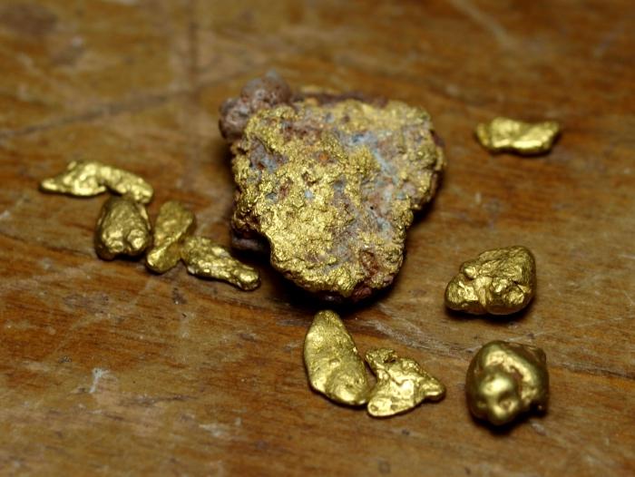 Rough Gold Specimen