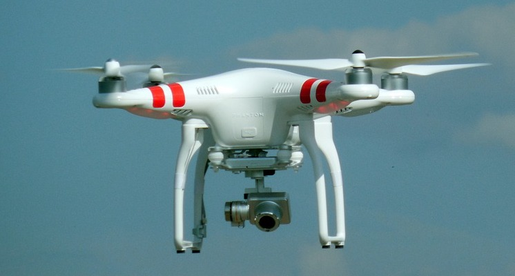 Using Drones To Locate Potential Gold Prospecting