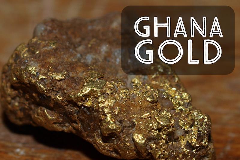 Mining Gold Ghana