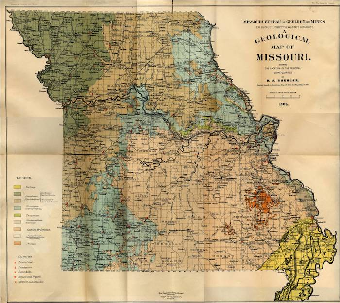 Gold Prospecting in Missouri - How to Find Gold Nuggets on road map of kansas, antique map of kansas, large map of kansas, physical map of kansas, radon map of kansas, blank map of kansas,