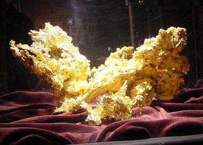 16+ Pound Chunk of Raw Crystalline Gold Found in Northern