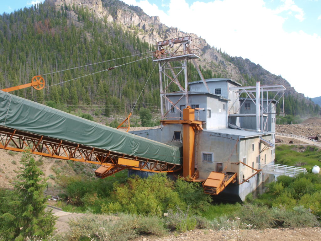 A Recent Visit Idaho's Yankee Fork Gold Dredge - How to Find