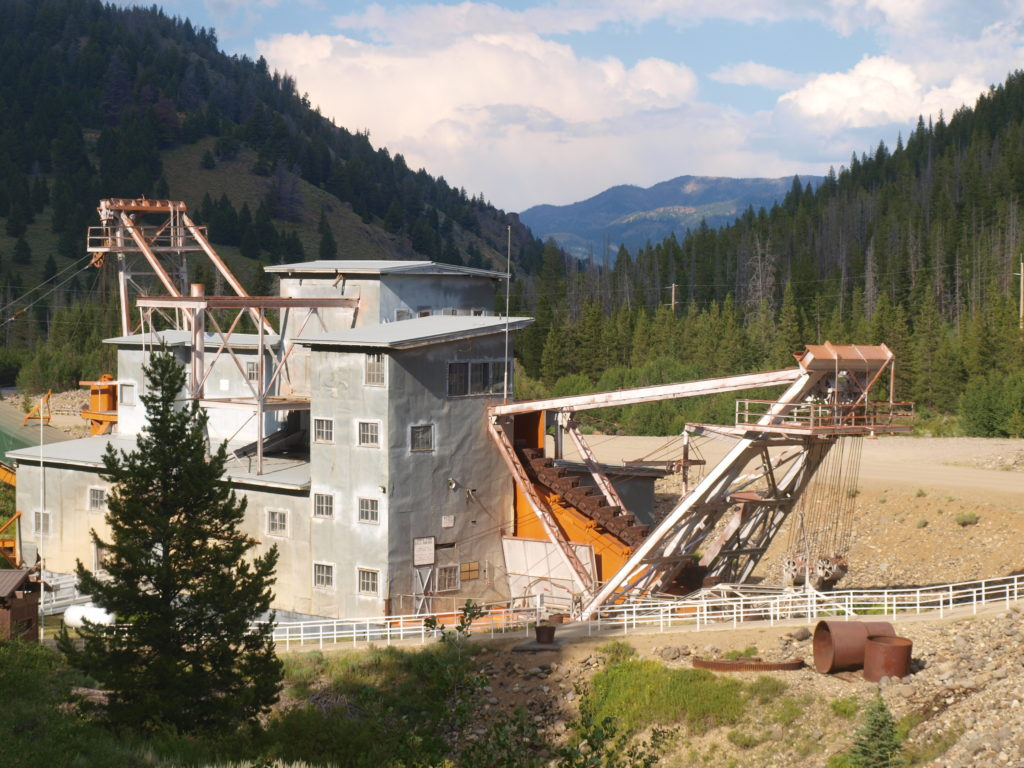 A Recent Visit Idaho's Yankee Fork Gold Dredge - How to Find Gold